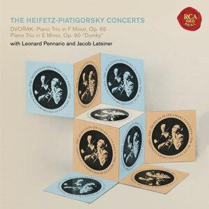 """The Piano Trio Collection - Dvorák: Trio No. 3 in F Minor, Op. 65 & Trio No. 4 in E Minor, Op. 90 """"Dumky"""" - Heifetz Remastered"""