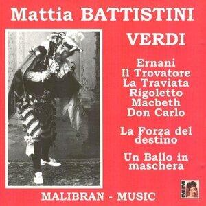 Mattia Battistini chante Verdi