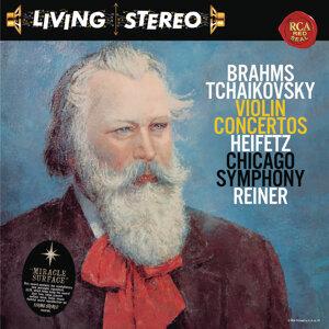 Brahms: Violin Concerto in D Major, Op. 77 - Tchaikovsky: Violin Concerto in D Major, Op. 35 - Heifetz Remastered