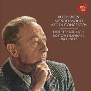 Beethoven: Violin Concerto in D Major, Op. 61 -  Mendelssohn: Violin Concerto in E Minor, Op. 64 - Heifetz Remastered