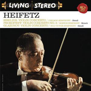 Sibelius: Violin Concerto in D Minor, Op. 47 -  Prokofiev: Violin Concerto No. 2 in G Minor, Op. 63 - Glazunov: Violin Concerto in A Minor, Op. 82 - Heifetz Remastered