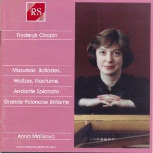 F. Chopin: Mazurkas / Ballades / Waltzes / Nocturne / Andante Spianato / Grande polonaise brillante