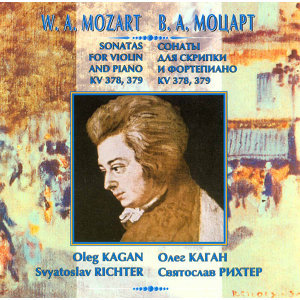 Mozart: Sonatas for Violin & Piano, K. 378 & 379