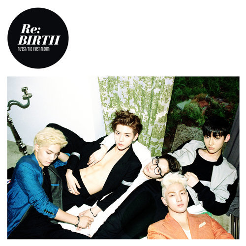 "NU'EST The First Album ""Re:BIRTH"""