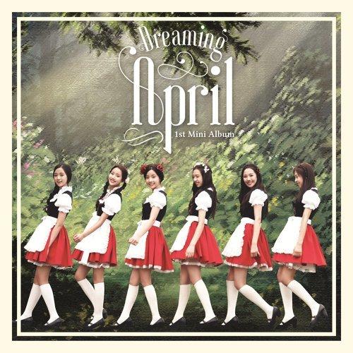 APRIL 1st Mini Album 'Dreaming'