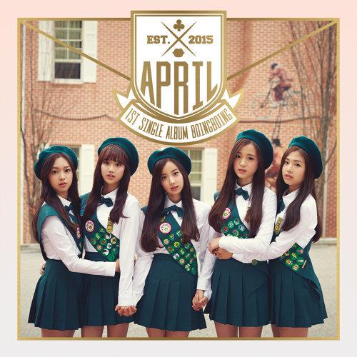 APRIL 1st Single Album 'Boing Boing'