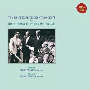Dvorák: Piano Quintet No. 2 in A Major, Op. 81 - Franck: Piano Quintet in F Minor - Heifetz Remastered