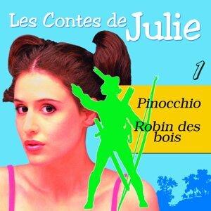 Les Contes de Julie 1 - Pinocchio & Robin des Bois