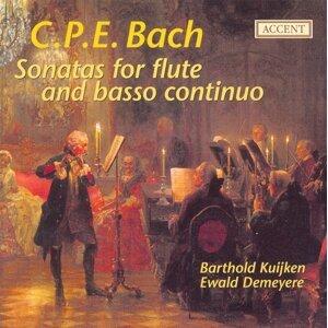 Bach, C.P.E.: Flute Sonatas
