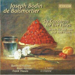 Boismortier, J.B.: Flute Concertos, Op. 15, Nos. 1-6 / Suite De Pieces, Op. 35, No. 5 / Sonata En Trio, Op. 7, No. 4