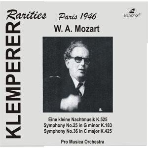 """Mozart: """"Eine kleine Nachtmusik"""", Symphonies Nos. 25 & 36"""