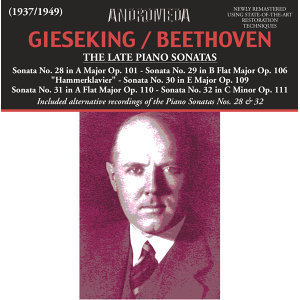 Beethoven: The Late Piano Sonatas (Live)