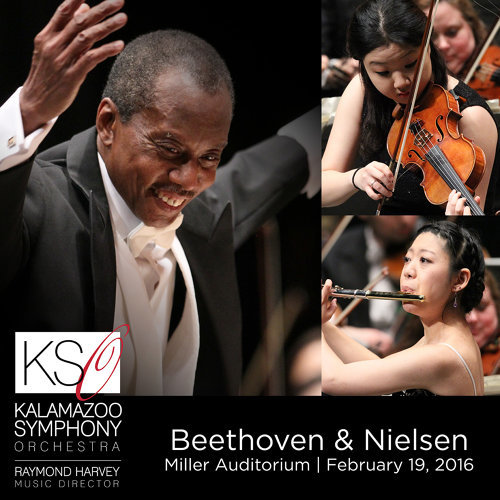 Beethoven & Nielsen: Orchestral Works (Live)