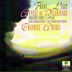 Franz Liszt : Années De Pelerinage - Deuxième année : Italie