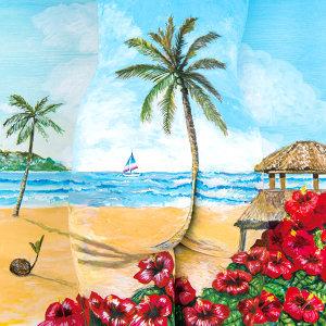 如椰子樹一般 / 彩色變化 / 與你共度的夏天