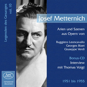 Legenden des Gesanges, Vol. 10: Josef Metternich (1951-1955)