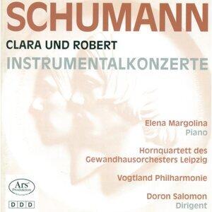 Schumann, R.: Concertstuck, Op. 86 / Schumann, C.: Piano Concerto, Op. 7 / Piano Concerto in F Minor