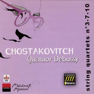 Chostakovitch : Quatuors à cordes no. 3, 7 & 10, Vol.2