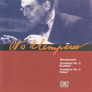 Klemperer Conduct Mendelssohn