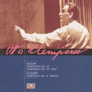 Klemperer Conducts Mozart; Schubert