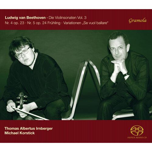 Beethoven: The Violin Sonatas, Vol. 3