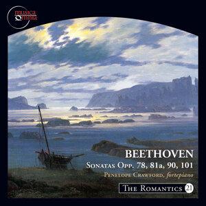The Romantics, Vol. 21: Beethoven Piano Sonatas, Opp. 78, 81a, 90 & 101