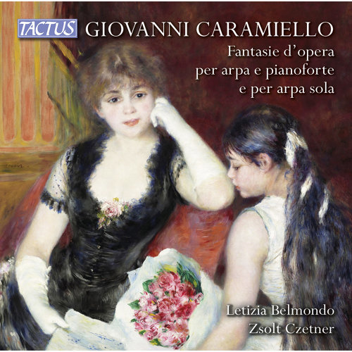 Caramiello: Operatic fantasias for Harp & Piano