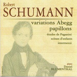Schumann, Robert: Variations Abegg - Papillons - Etudes de Paganini - Scenes d'enfants - Intermezzi
