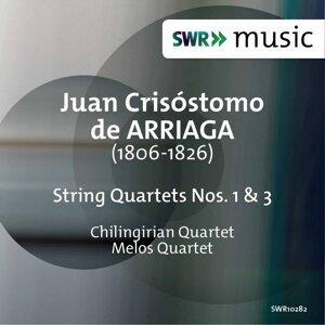 Arriaga: String Quartets Nos. 1 & 3