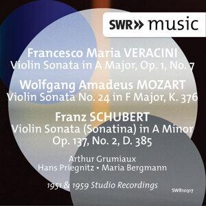 Veracini, Mozart & Schubert: Violin Sonatas