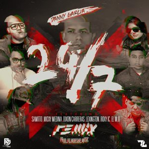 24-7 Remix (feat. Samitto, Micky Medina, Lexington, Dixon Carreras, Roxy (Invacion Celestial) & El M.O]