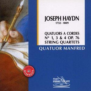 Haydn : Quatuors à cordes No.1, 3 & 4, Op.76