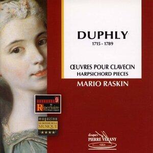 Duphly : Œuvres pour clavecin