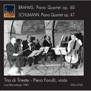 Brahms & Schumann: Piano Quartets (Live)