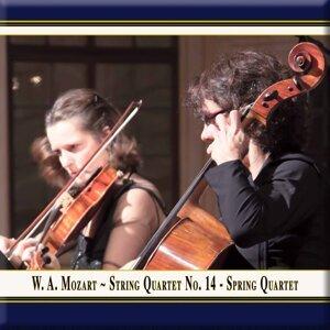 """Mozart: String Quartet No. 14 in G Major, Op. 10 No. 1, K. 387 """"Spring"""" (Live)"""