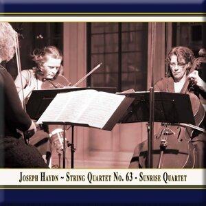 "Haydn: String Quartet No. 63 in B-Flat Major ""Sunrise"" (Live)"