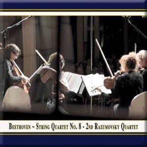 "Beethoven: String Quartet No. 8 in E Minor ""Razumovsky"" (Live)"