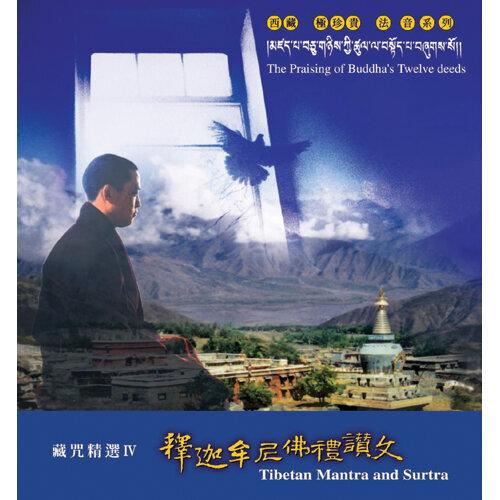 釋迦牟尼佛禮讚文(藏咒精選4)