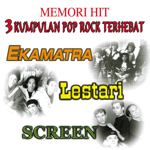 Memori Hit 3 Kumpulan Pop Rock Terhebat