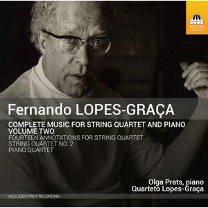 Lopes-Graça: Complete Music for String Quartet & Piano, Vol. 2
