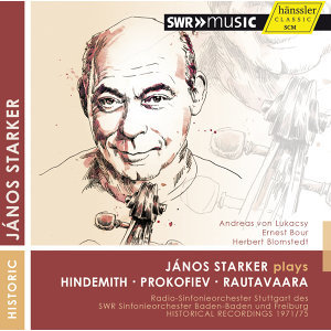 János Starker Plays Hindemith, Prokofiev & Rautavaara