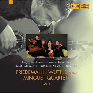 Spanish Music for Guitar and Quartet, Vol. 1