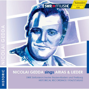 Nicolai Gedda sings Arias & Lieder