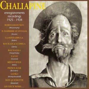 Chaliapine : Enregistrements - Recordings 1925-1934