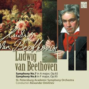 Ludwig van Beethoven. Symphony No.7 in A Major, op.92. Symphony No.8 in F Major, op.93