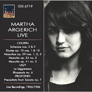 Chopin, Liszt & Profokiev: Piano Works (Live)