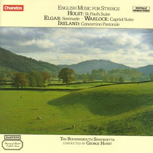 Holst / Warlock / Elgar / Ireland: English Music for Strings
