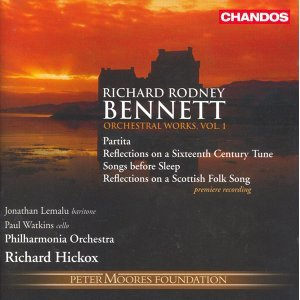 Bennett: Orchestral Works, Vol. 1