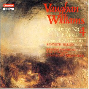 Vaughan Williams: Symphony No. 4 / Violin Concerto in D Minor