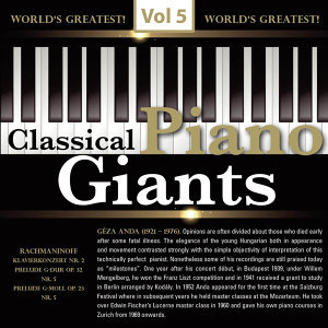 Classical - Piano Giants, Vol.5